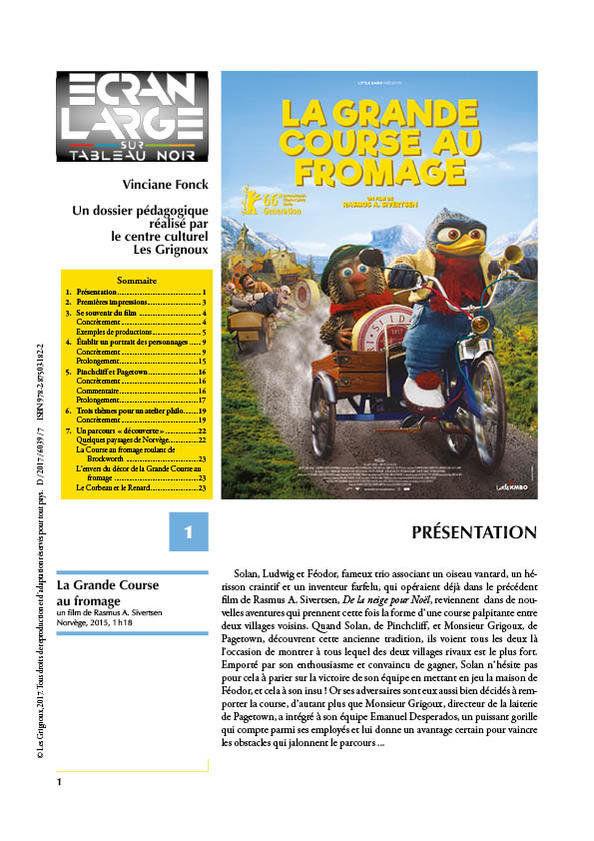 affiche du dossier La Grande Course au fromage