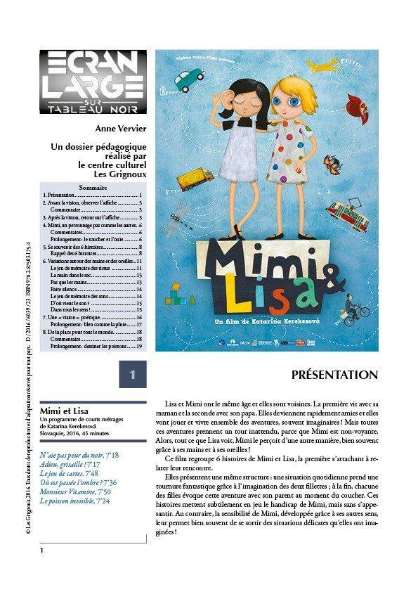affiche du dossier Mimi et Lisa