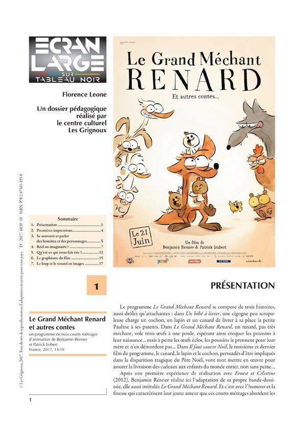 affiche du dossier Le Grand Méchant Renard et autres contes