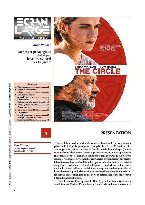 affiche du dossier The Circle