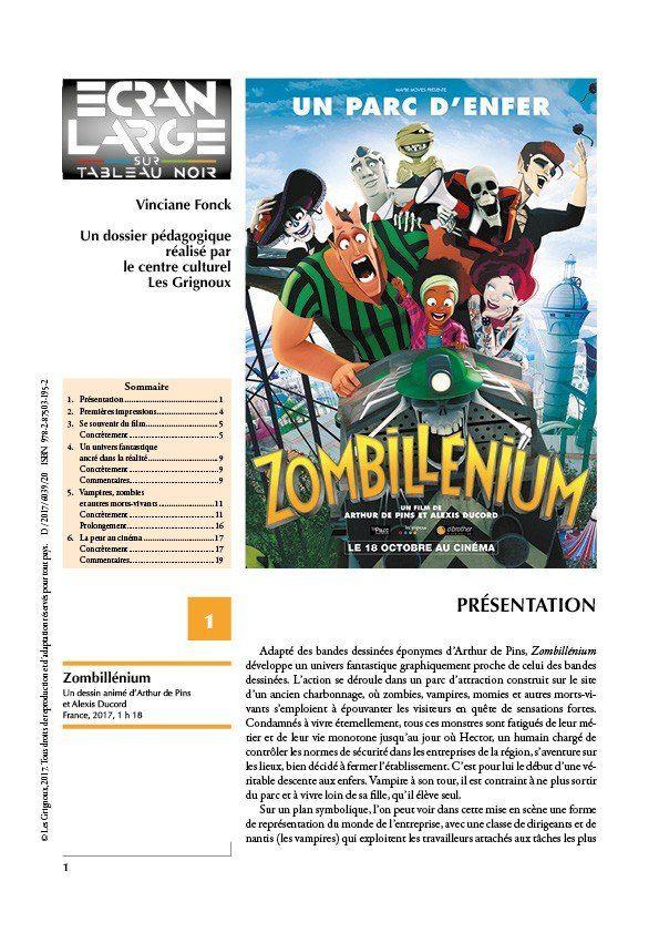 affiche du dossier Zombillénium