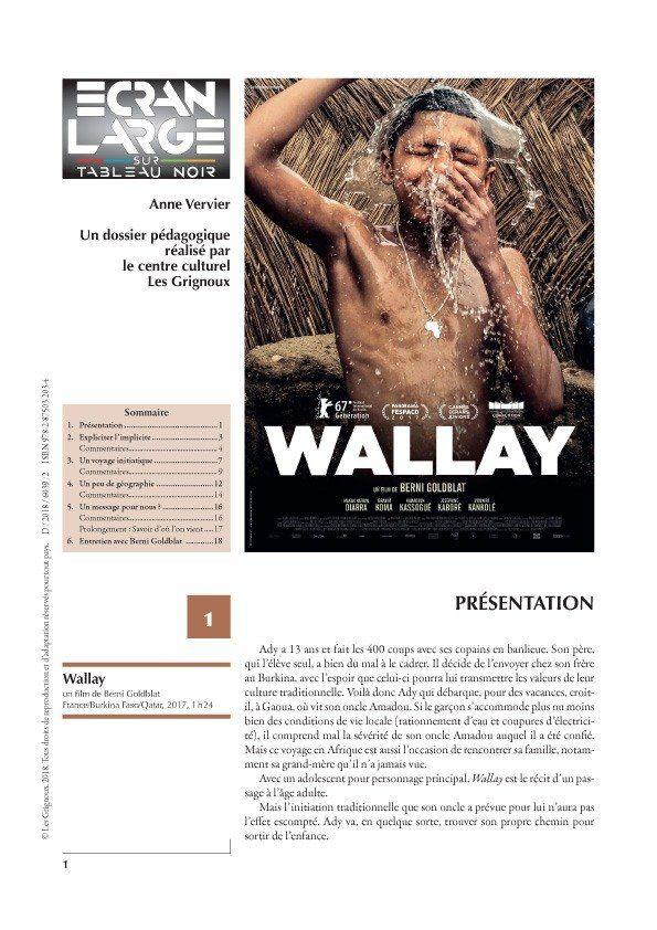 affiche du dossier Wallay