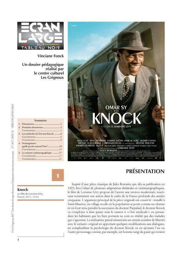 affiche du dossier Knock