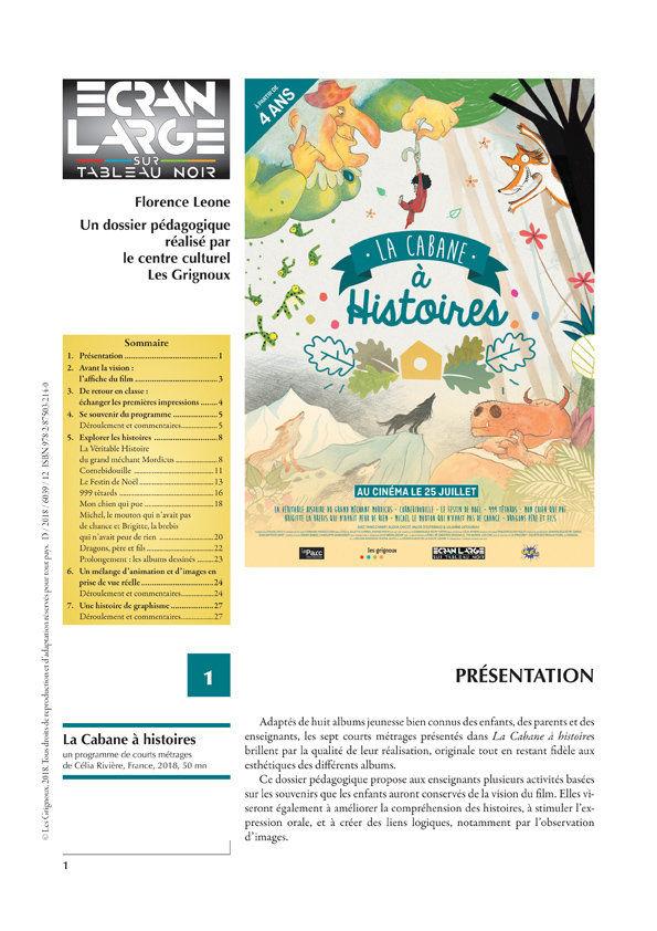 affiche du dossier La Cabane à histoires