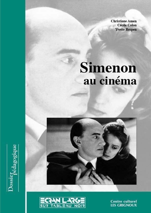 affiche du dossier Simenon au cinéma