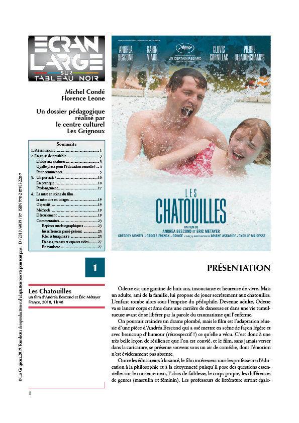 affiche du dossier Les Chatouilles