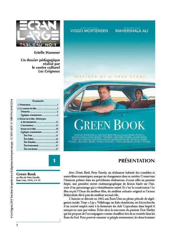 affiche du dossier Green Book