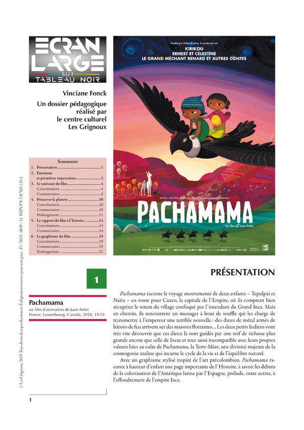 affiche du dossier Pachamama