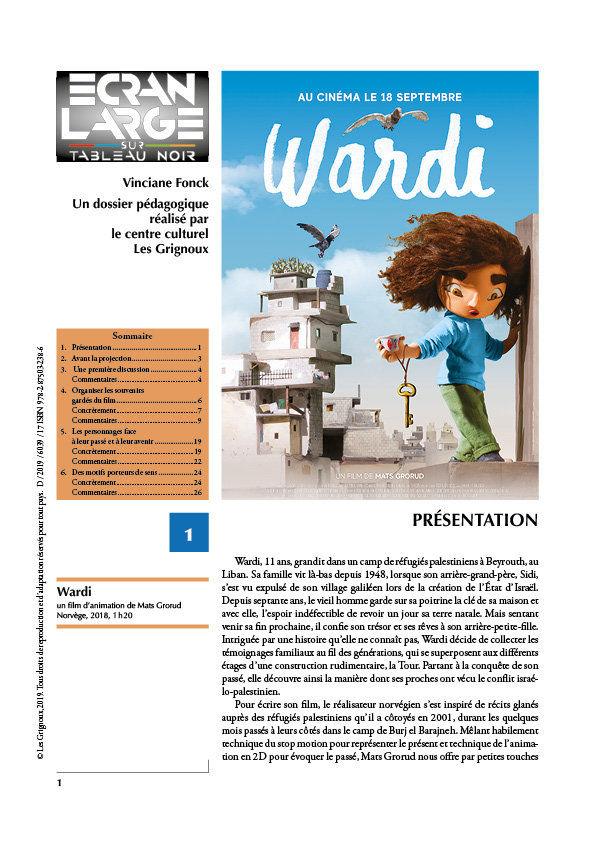 affiche du dossier Wardi