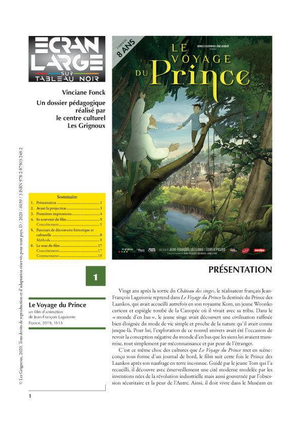 affiche du dossier Le Voyage du Prince