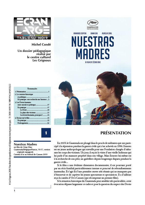 affiche du dossier Nuestras Madres