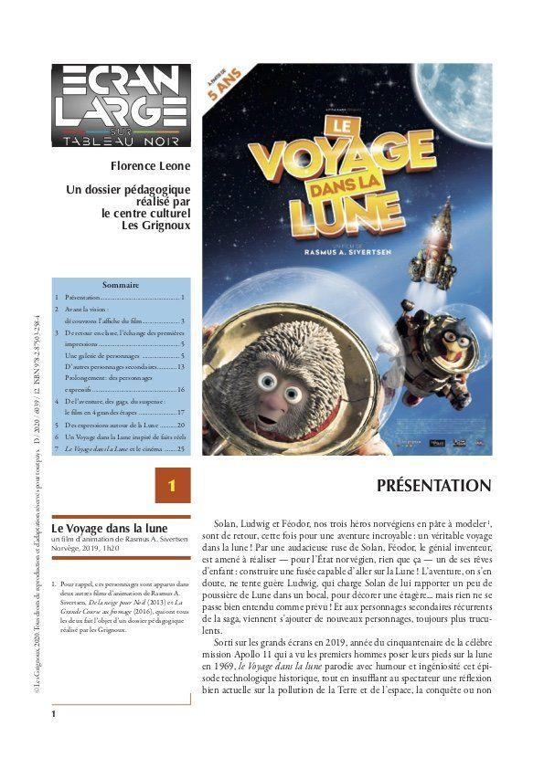 affiche du dossier Le Voyage dans la lune