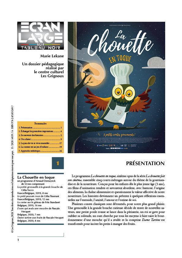 affiche du dossier La Chouette en toque