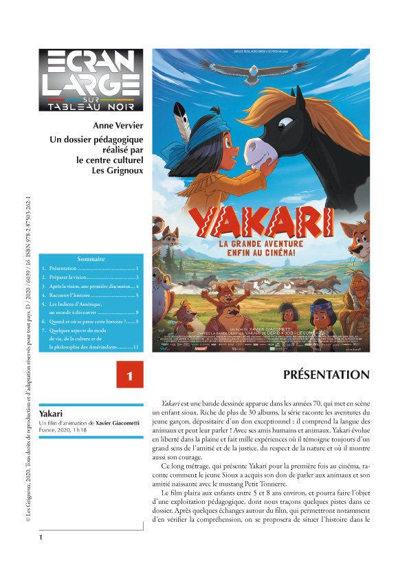 affiche du dossier Yakari, le film