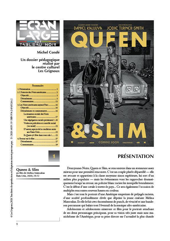affiche du dossier Queen & Slim
