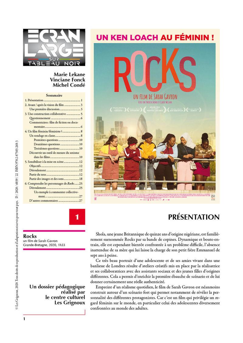 affiche du dossier Rocks