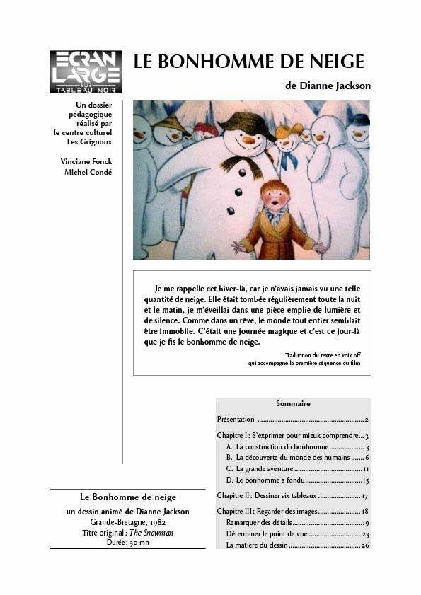affiche du dossier Le Bonhomme de neige