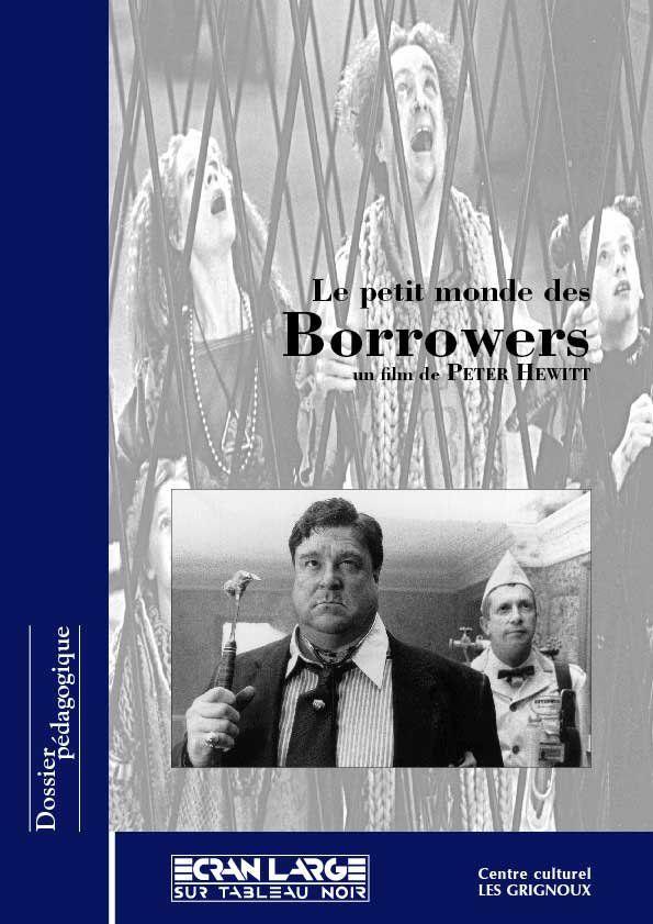 affiche du dossier Le Petit Monde des Borrowers