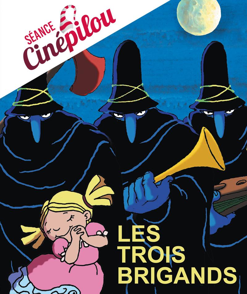 affiche du film Les trois brigands (en ligne !)