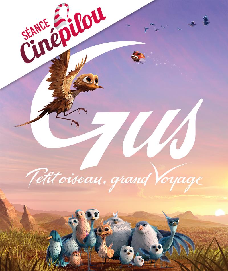 affiche du film Gus, petit oiseau grand voyage