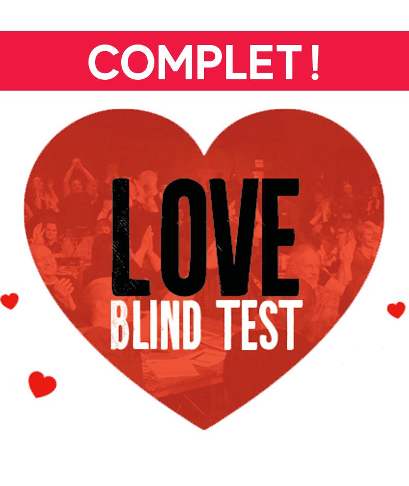 affiche du film Love Blind Test - COMPLET !