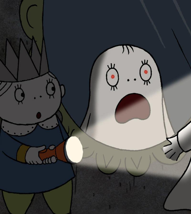 affiche du film Laban, le petit fantôme