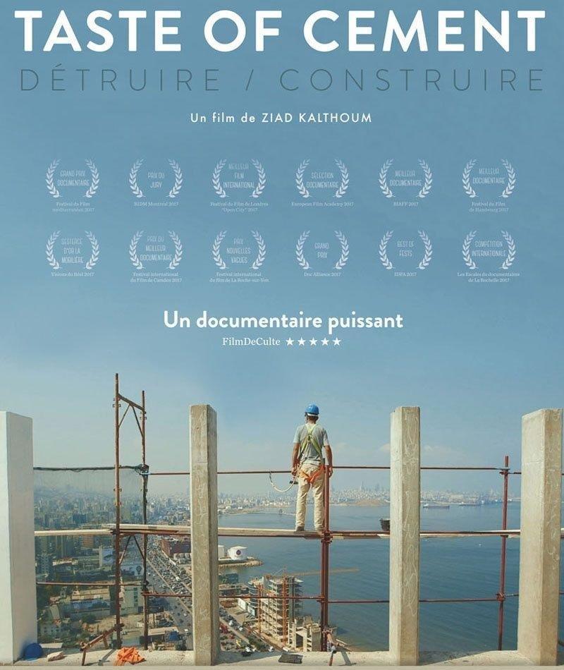 affiche du film Taste of Cement