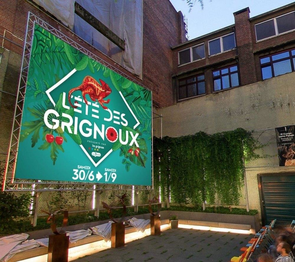 affiche du film Ciné plein air au Sauvenière