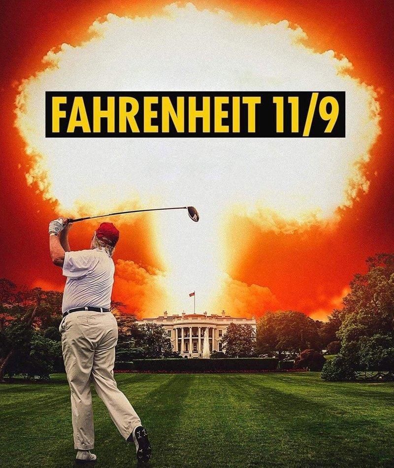 affiche du film Fahrenheit 11/9