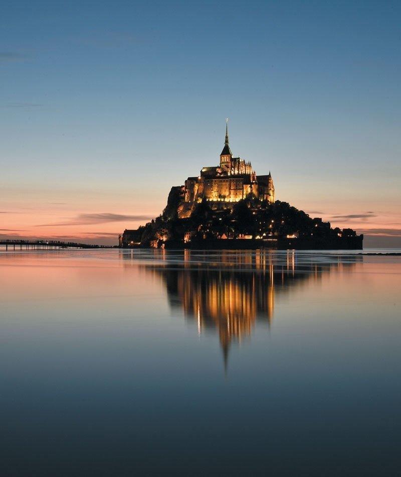 affiche du film Mont Saint-Michel, merveilles d'une baie