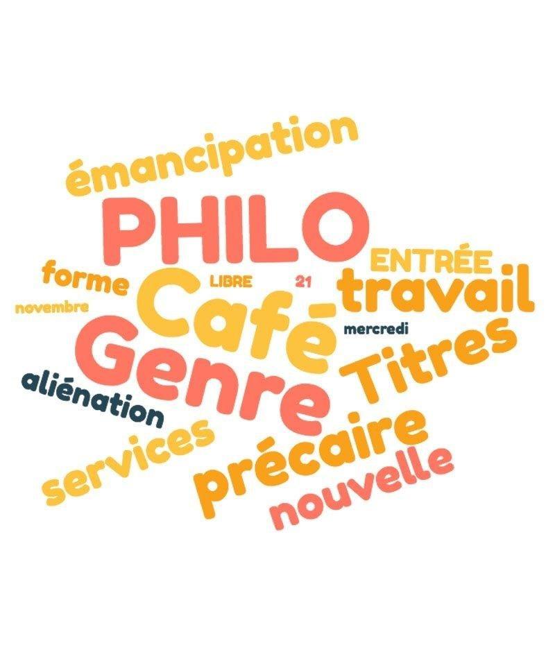 affiche du film Café philo au CaféO