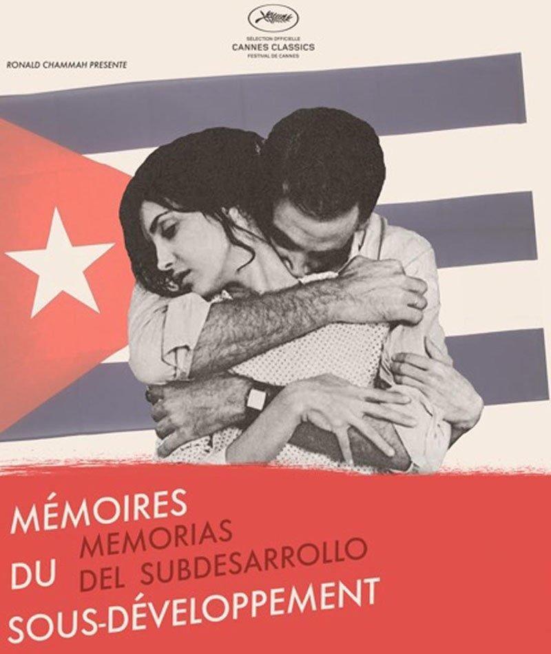 affiche du film Mémoires du sous-développement