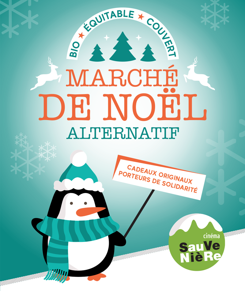 affiche du film Marché de Noël alternatif