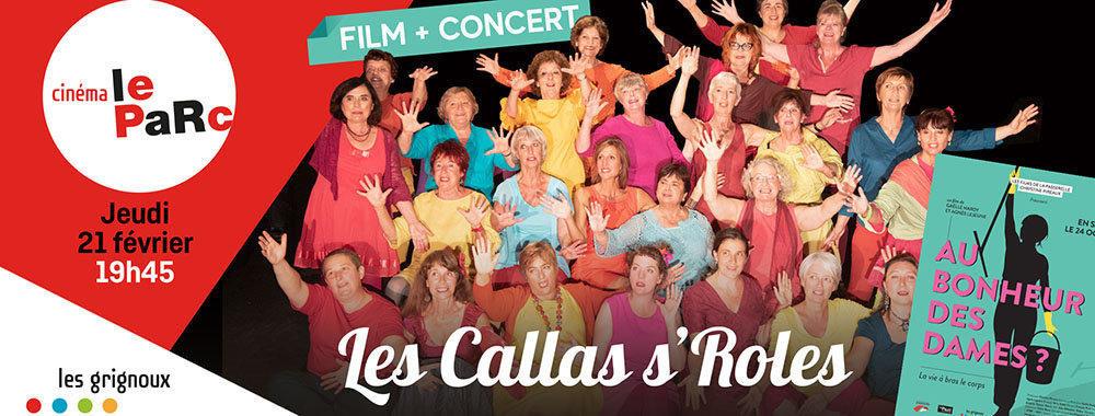 affiche du film Les Callas s'Roles