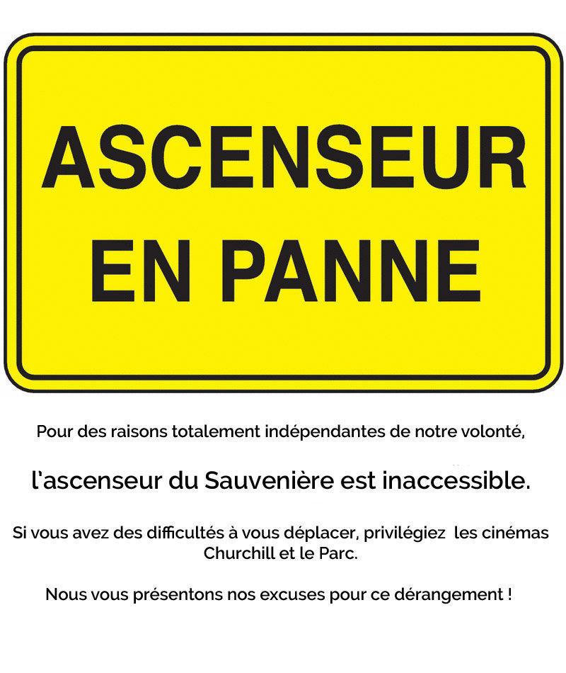 affiche du film Aie !  L'ascenseur du Sauvenière est en panne