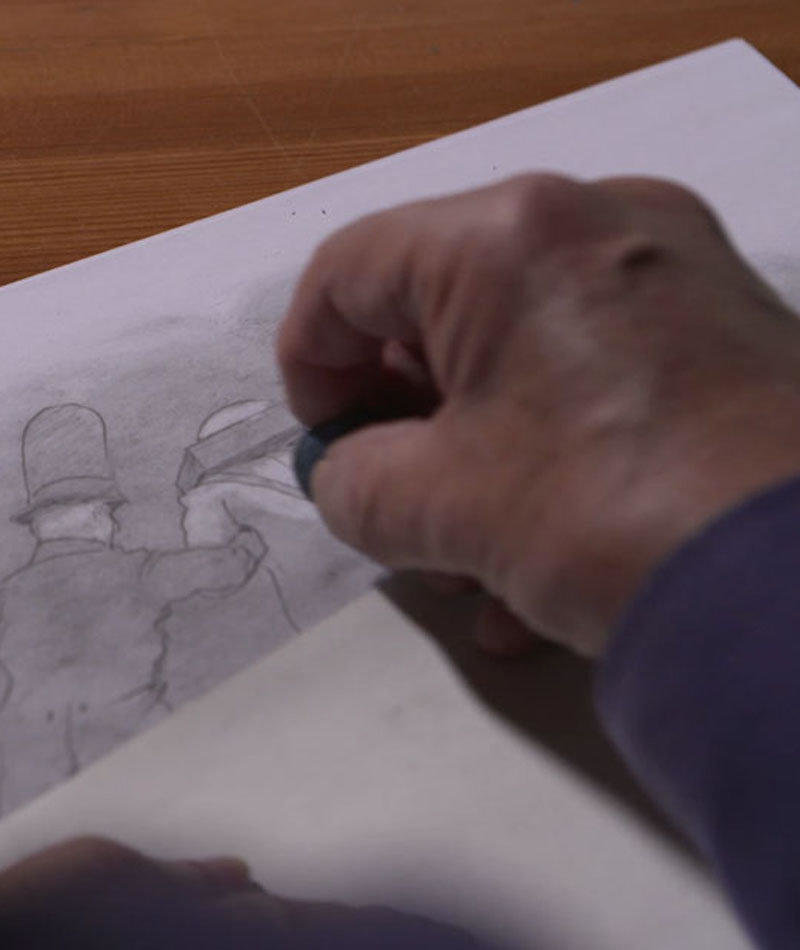 affiche du film Raoul Servais, mémoire d'un artisan...