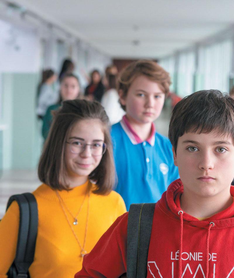 affiche du film Sortir du rang : l'heure a sonné pour la démocratie à l'école