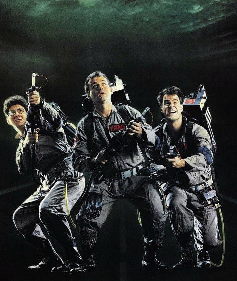affiche du film Ghostbusters