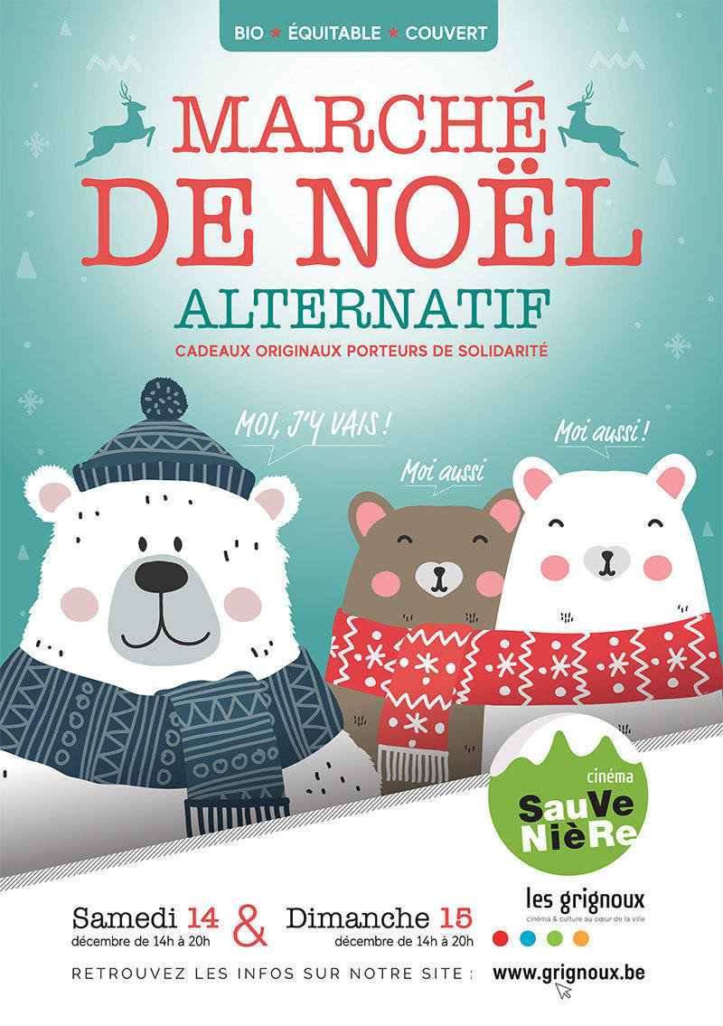 affiche du film Marché de Noël alternatif