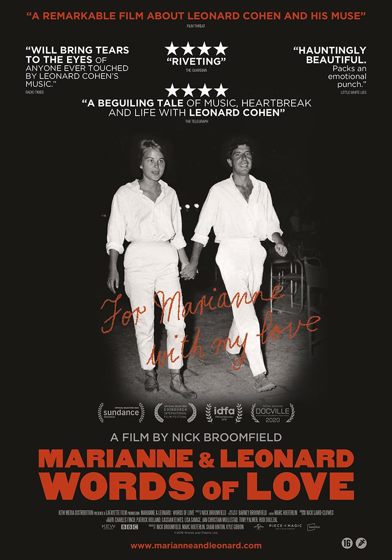 affiche du film Marianne & Leonard : words of love