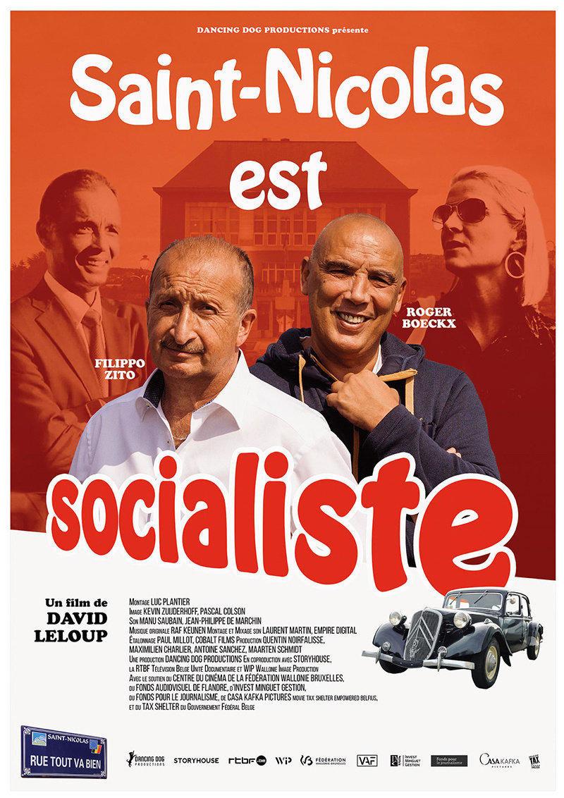 affiche du film Saint-Nicolas est socialiste
