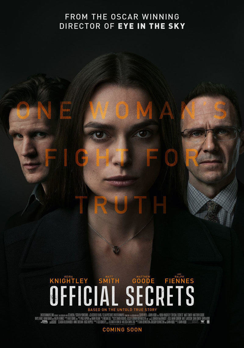 affiche du film Official secrets