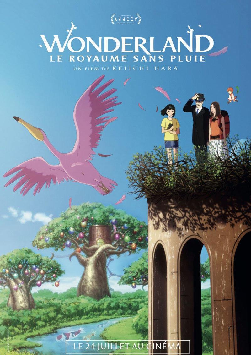 affiche du film Wonderland, le royaume sans pluie VF