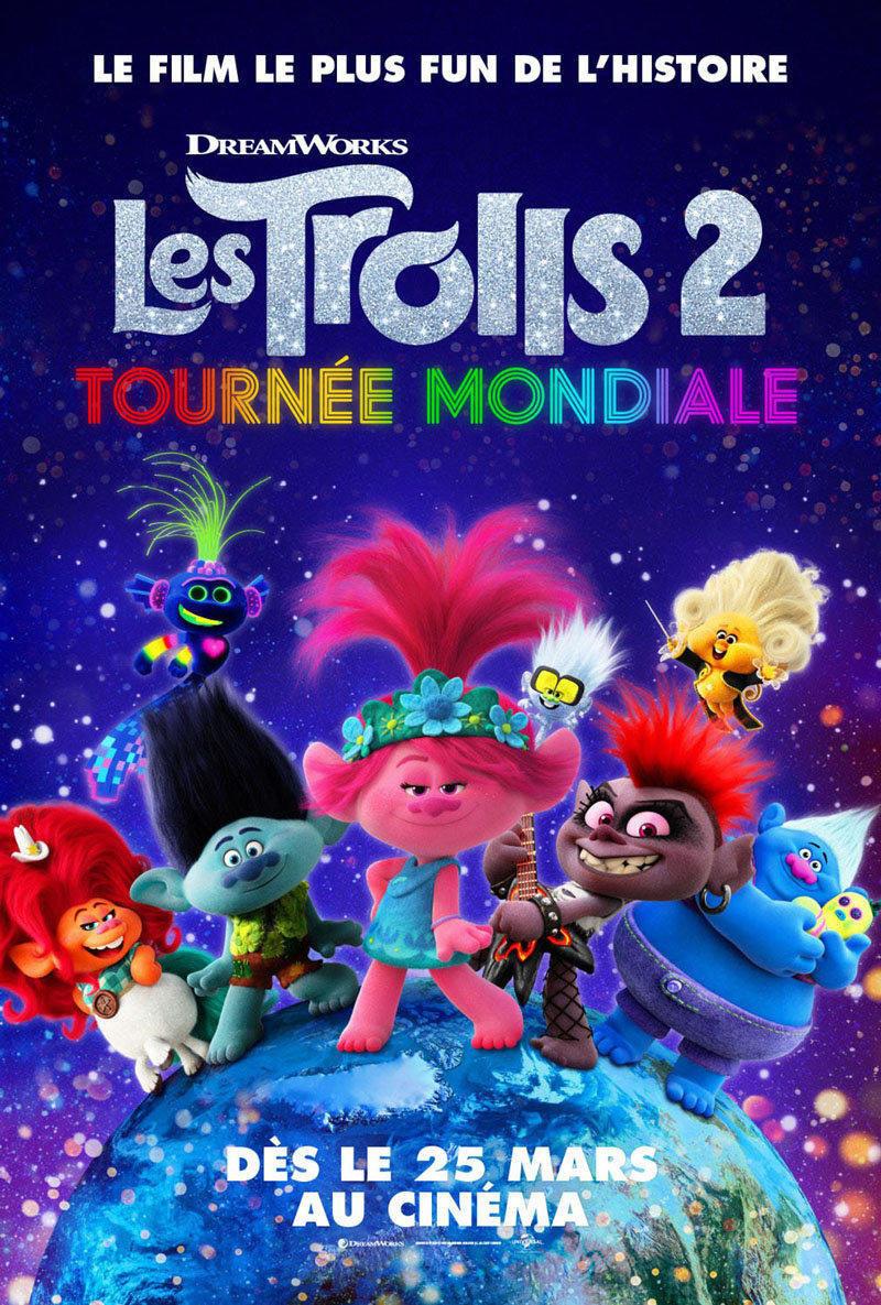 affiche du film Les Trolls 2 : tournée mondiale [ANNULÉ]