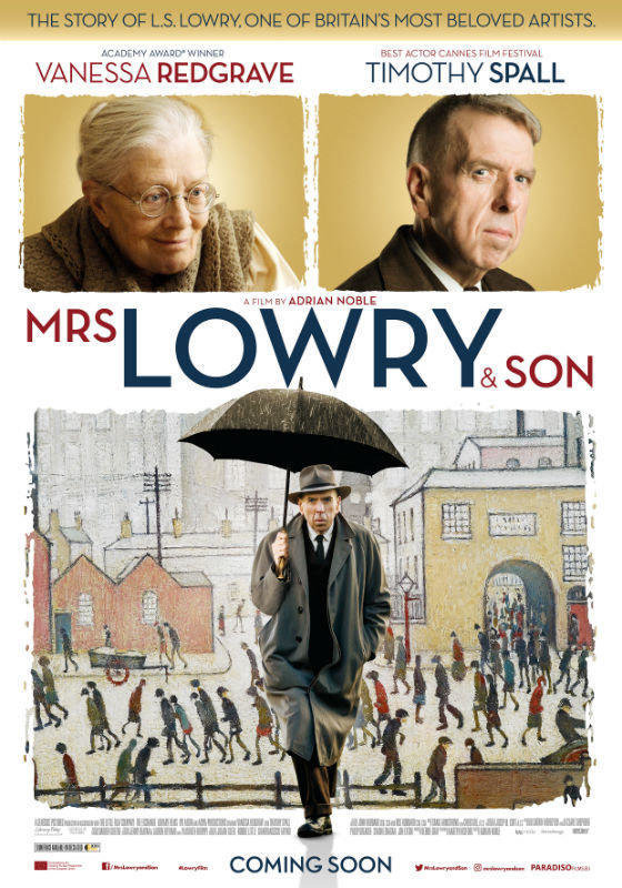affiche du film Mrs Lowry and son