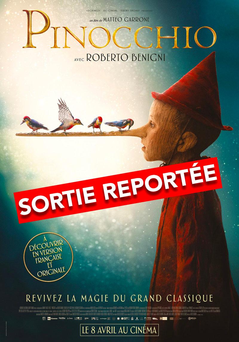 affiche du film Pinocchio VF [Reporté]
