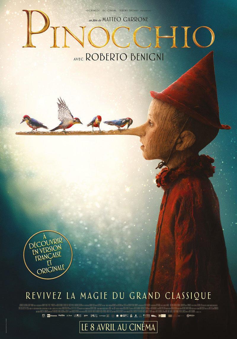 affiche du film Pinocchio VO