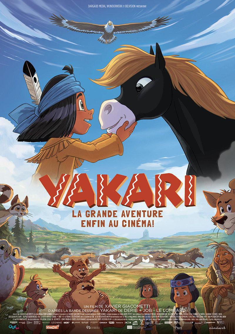affiche du film Yakari, la grande aventure [ ANNULÉ ]
