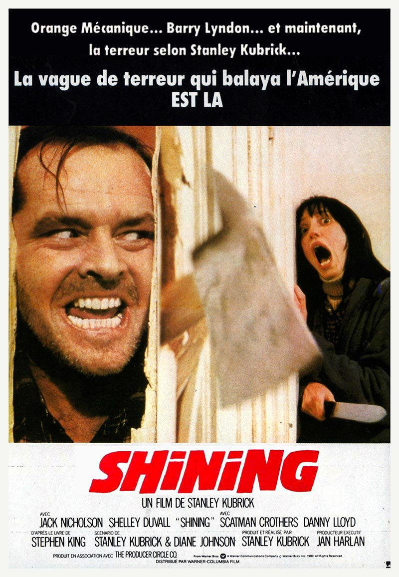 affiche du film Shining (version longue)