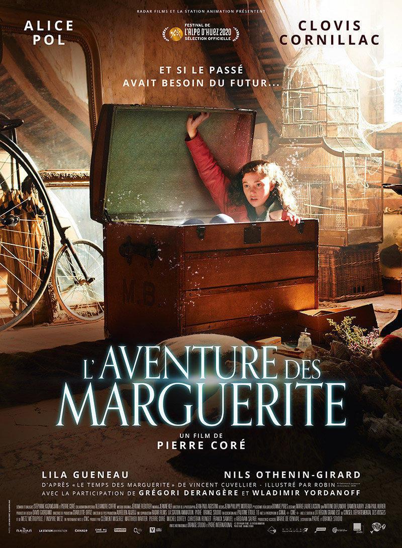 affiche du film L'aventure des Marguerite